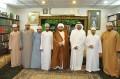 زيارة سماحة الشيخ ابراهيم العجمي مع مجموعة من المؤمنين العمانيين من أهل الافراض