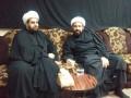 الشيخ المشيقري مع العلامة الشيخ محمد علي البيابي